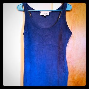 Philosophy Blue Polyester Midi Dress Size 6